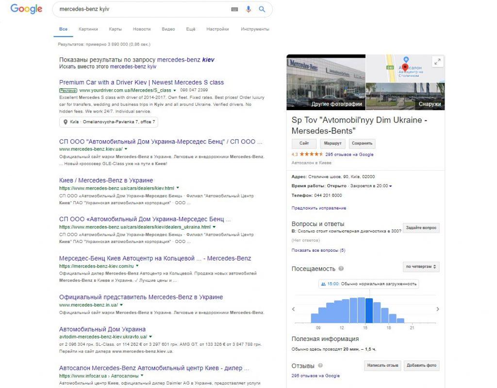 Налаштування Google My Business фото 2